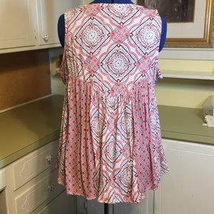 crown & ivy Tops - High Low Sleeveless Top NWOT
